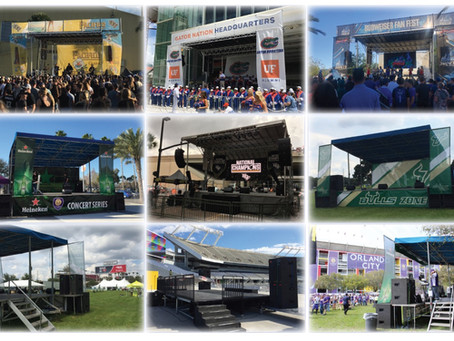 How to STAGE... Sports Fanfests & Concerts