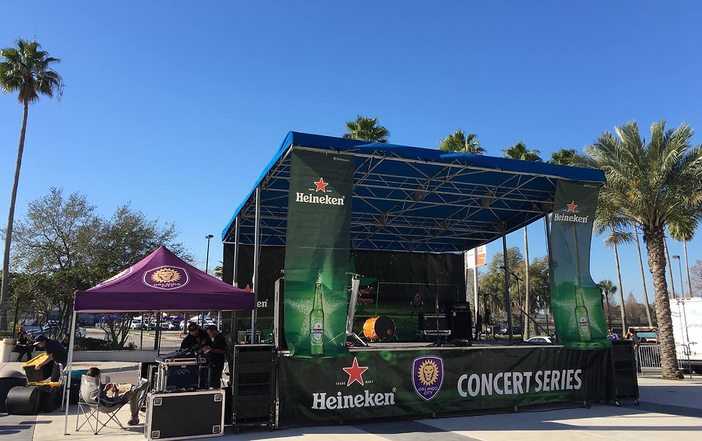 aXisPro provided the MAP24 for the Orlando City Concert Series presented by Heineken at Camping World Stadium.