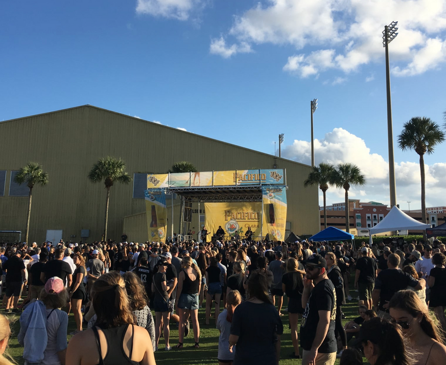 Mobile Stage: 24x20: UCF Football Tailgate Series