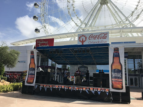Mobile Stage Rental 24x26 Orlando aXis Pro