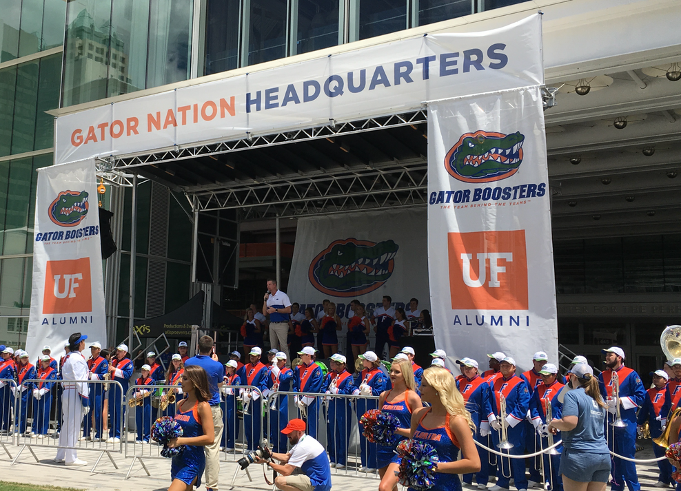Mobile Stage: 24x20: College Football Kickoff with UF vs UM