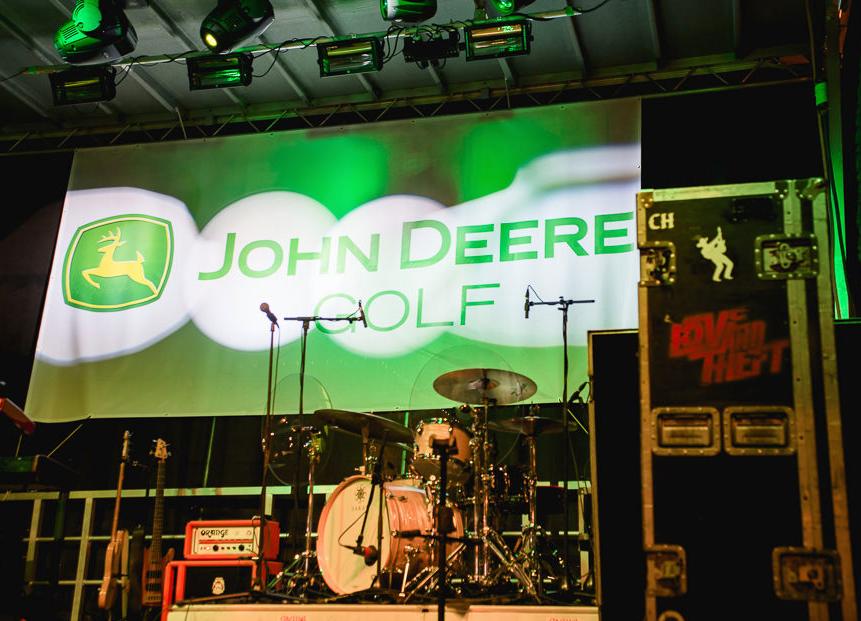 Mobile Stage: 24x20: John Deere Golf Concert