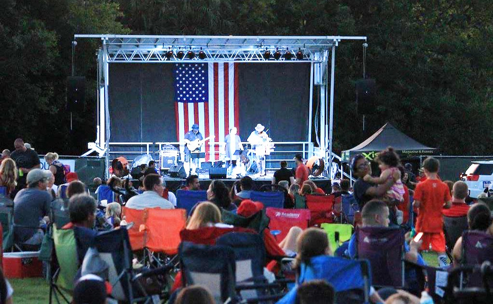 Central Winds Park is always a blast with the aXisPro SL100 rocking with the 4th of July local talent contest.