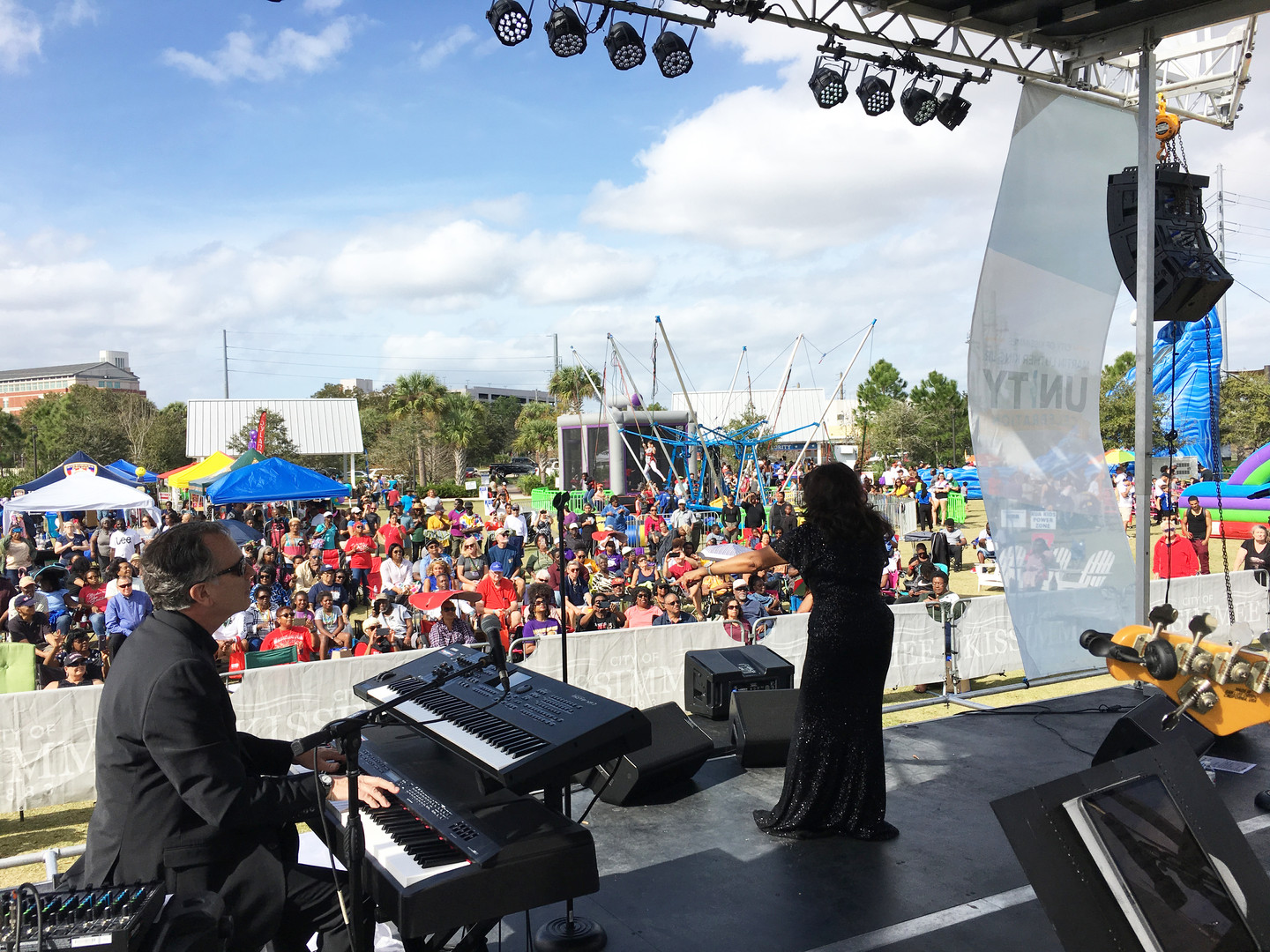 Mobile Stage: 24x20: Kissimmee MLK 2020 Celebration