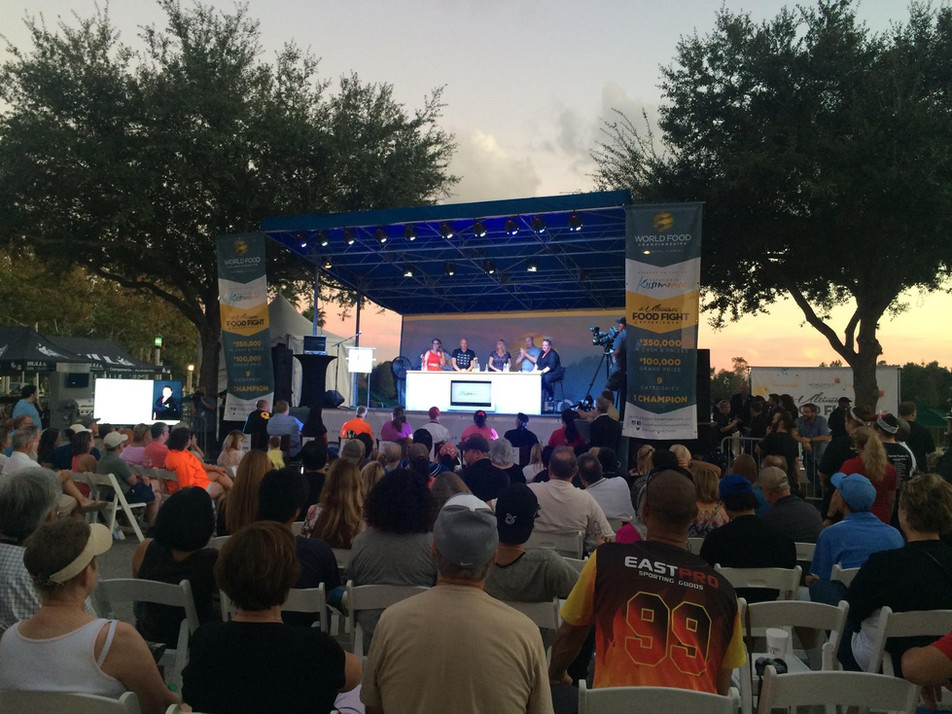 Mobile Stage: 24x16: World Food Championships