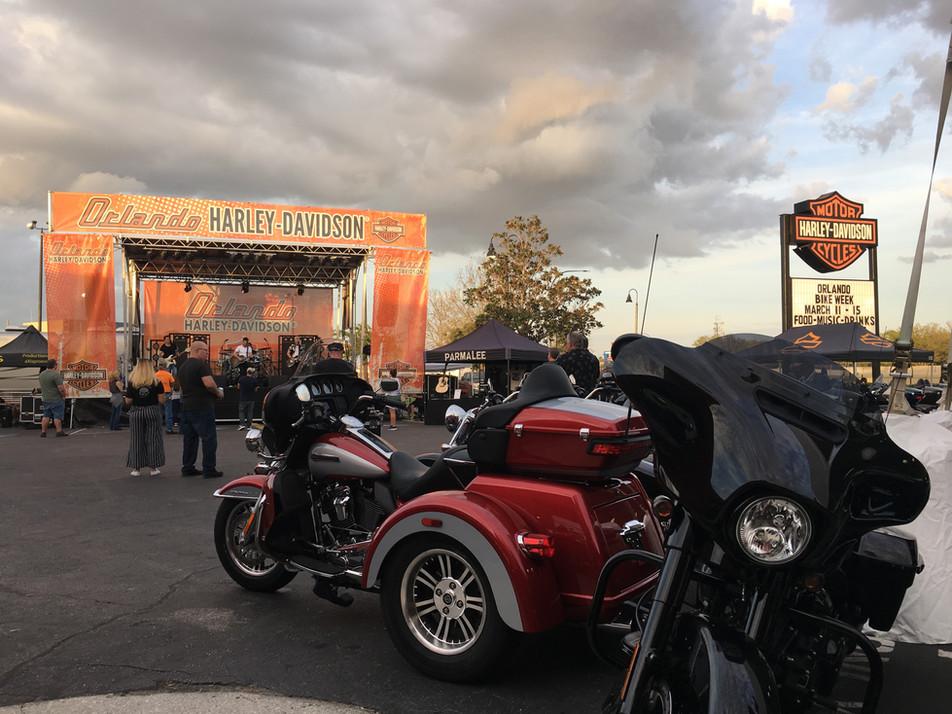 Mobile Stage: 24x20: Orlando Harley Bike Week 2020