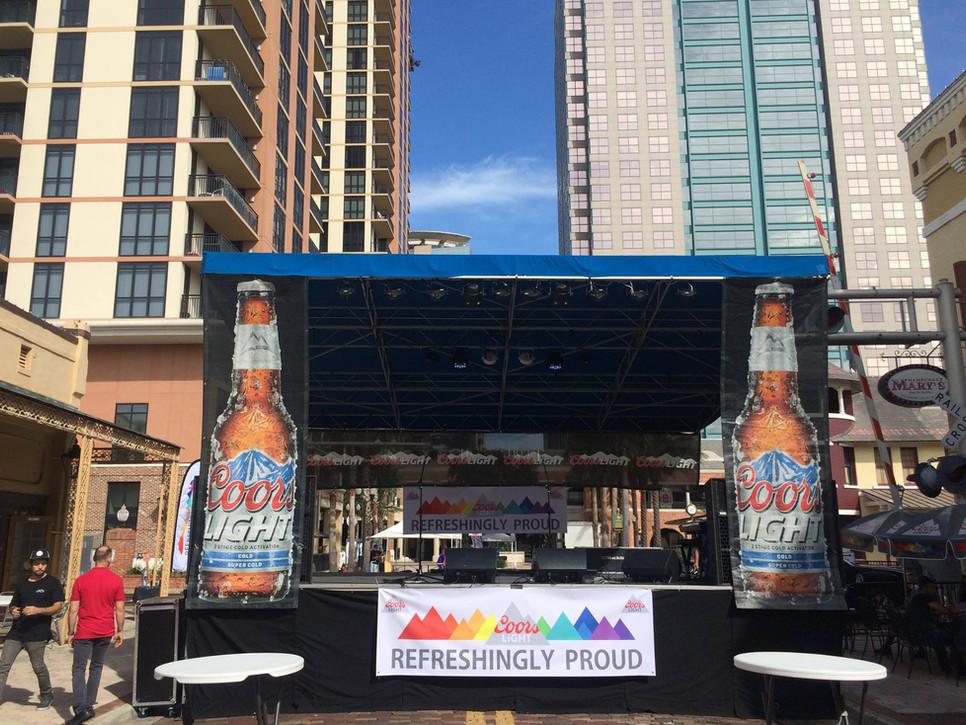 Mobile Stage: 24x16: Orlando Pride Festival