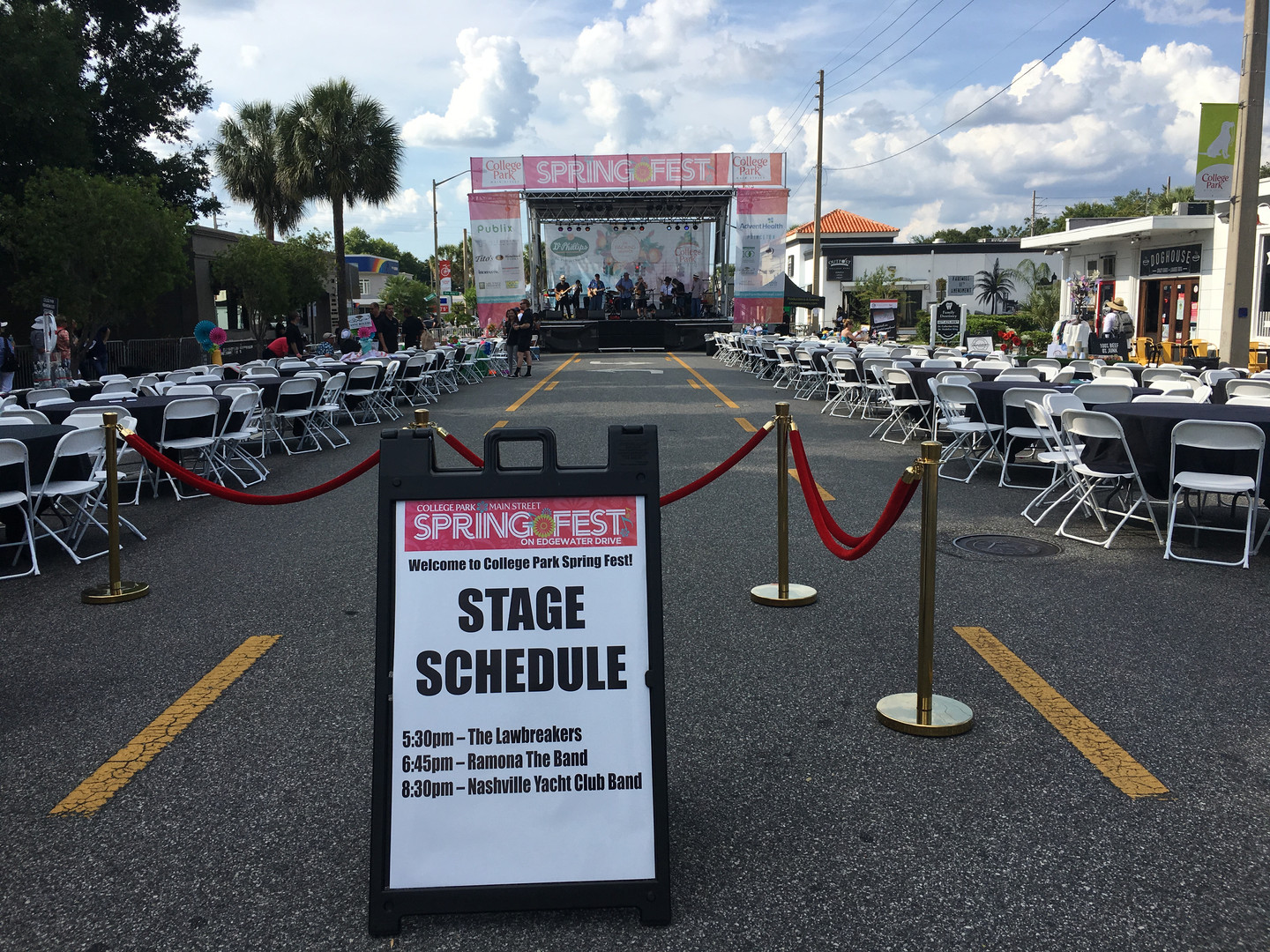 Mobile Stage: 24x20: College Park Springfest 2019
