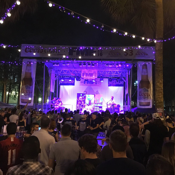 Mobile Stage: 24x20: Florida Music Festival