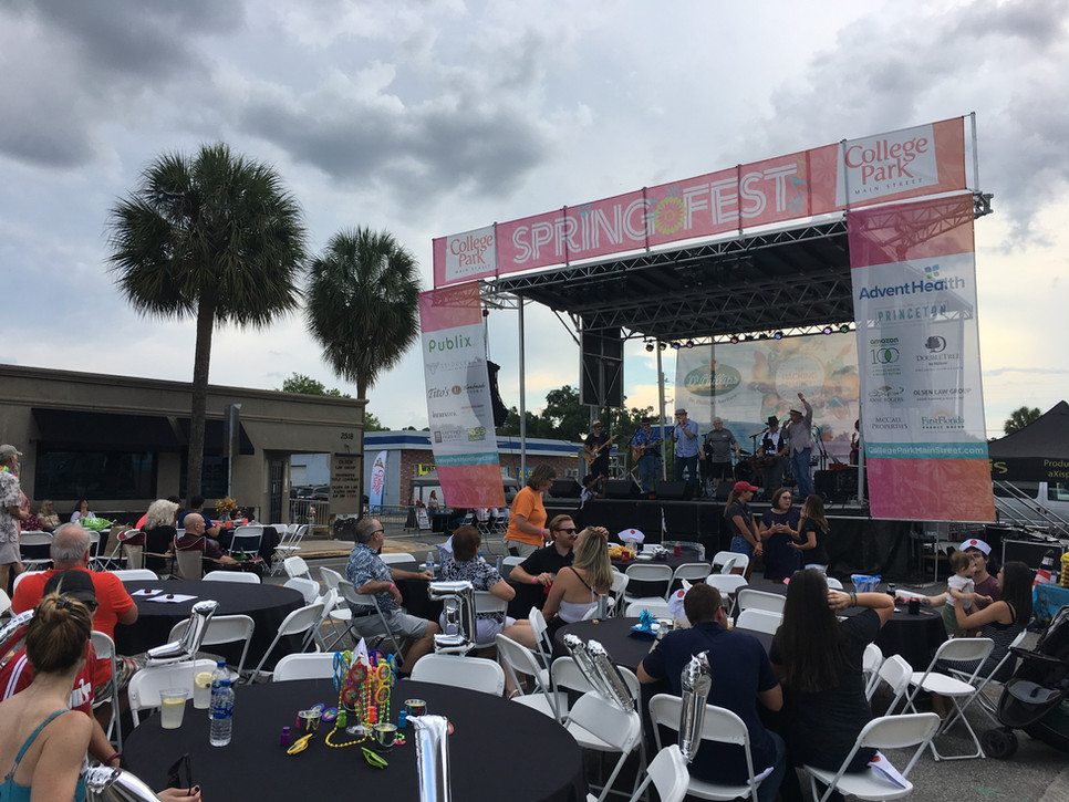 Mobile Stage: 24x20: College Park Jazzfest