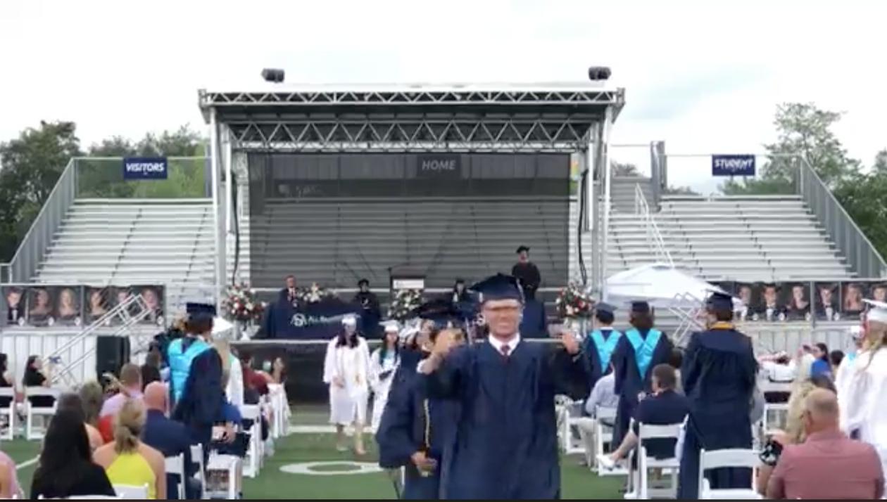 Mobile Stage: 24x20: All Saints Academy 2020 Graduation