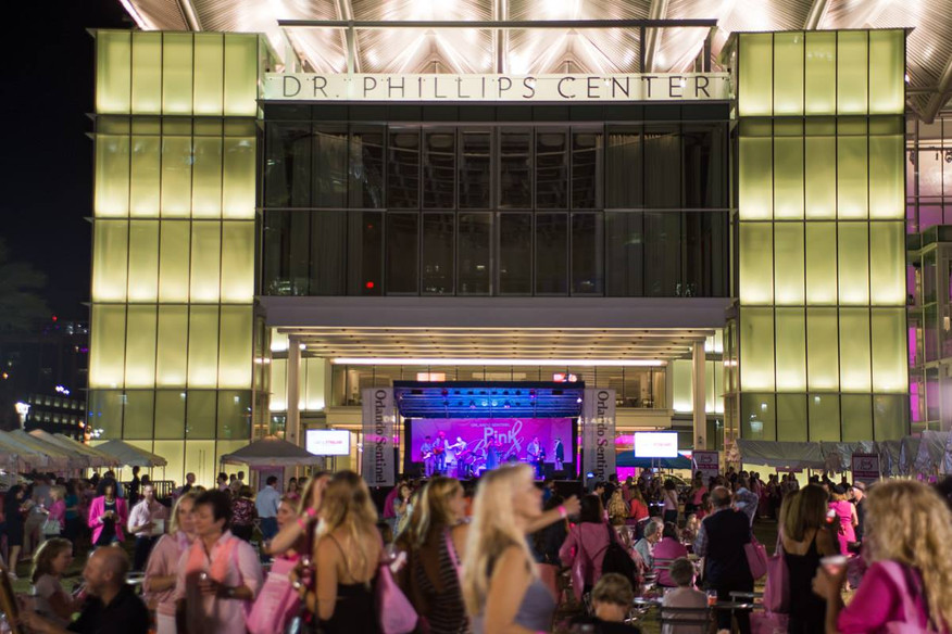Mobile Stage: 24x16: Orlando Sentinel Pink Party
