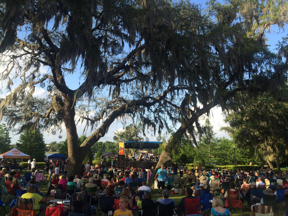 Mobile Stage: 24x16: Casselberry Jazz Fest