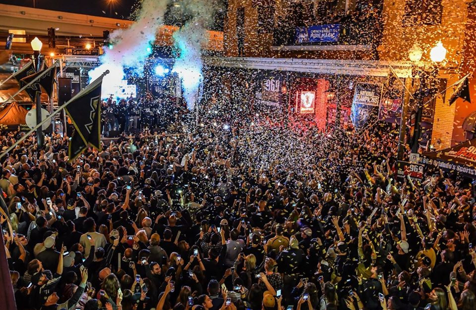 Mobile Stage: 24x20: UCF National Championship Party