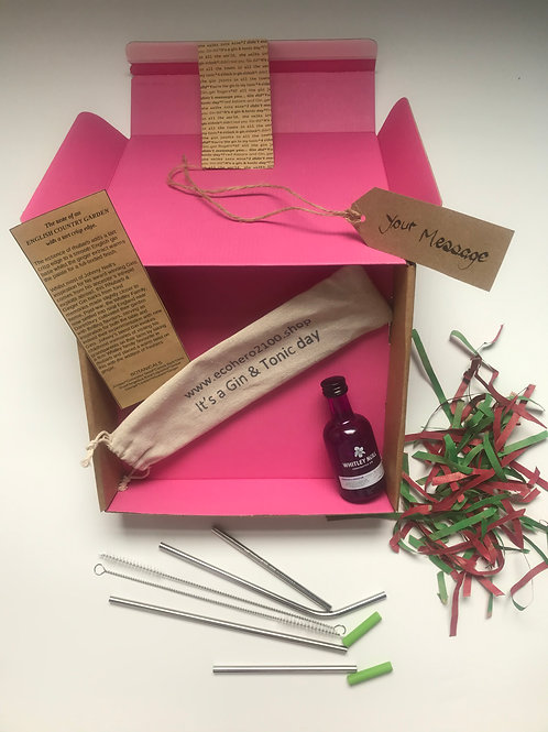 Whitley Neill Gin and G&T Straws Gift Box