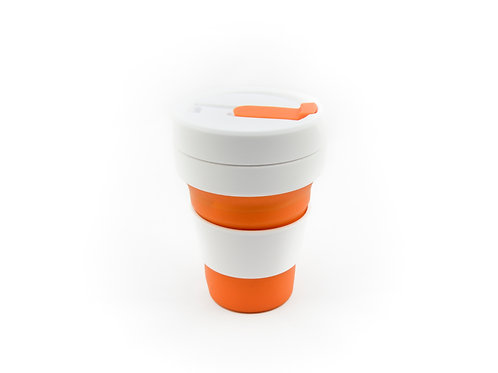 ORANGE STOJO Collapsible Cup