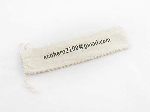 Drawstring Bag For Straws