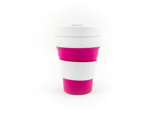PINK STOJO Collapsible Cup