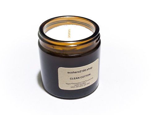 Clean Cotton Natural Soy Candle