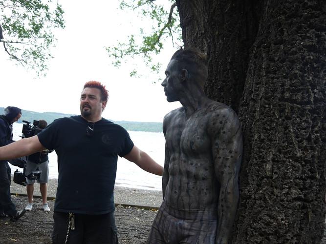 Dutch body painting Tim Lopez