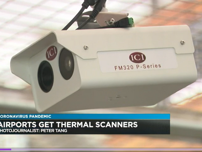 Airports get thermal cameras.