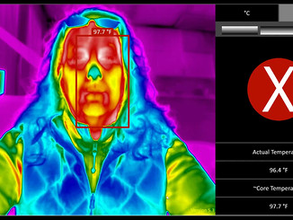 Adjusting in IR Flash to trigger an Elevated Temperature Alarm.