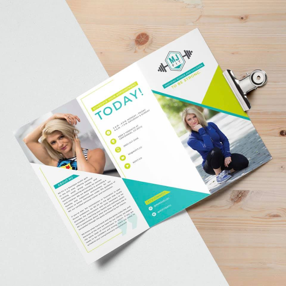 MJ Fit Brochure Front
