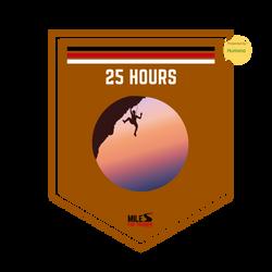 Cross Training: 25 Hours