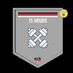 Cross Training: 15 Hours