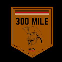 Biking: 300 Miles