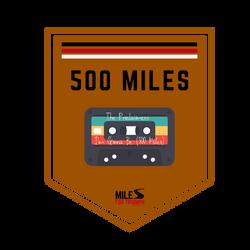 Biking: 500 Miles