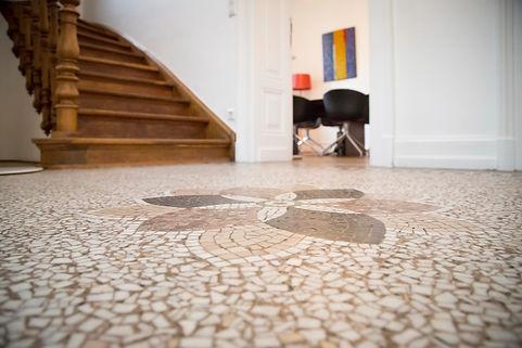 Koma-architectes - aménagement intérieur d'une maison de maître sur le boulevard Grande-Duchesse Charlotte au Luxemborg