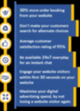 Maximise yor website traffic with ChatMate