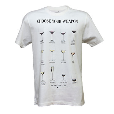 Camiseta Choose Your Weapon Hawke's