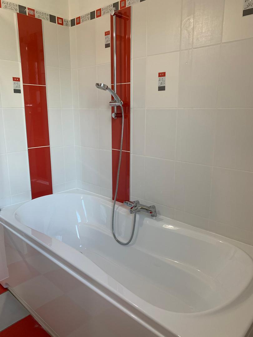 dépose d'une douche pour baignoire doubleRAVAK