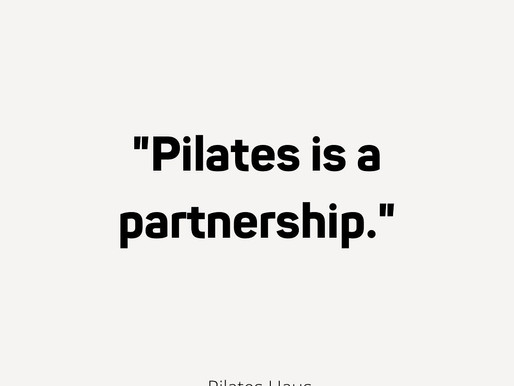 Pilates is a Partnership