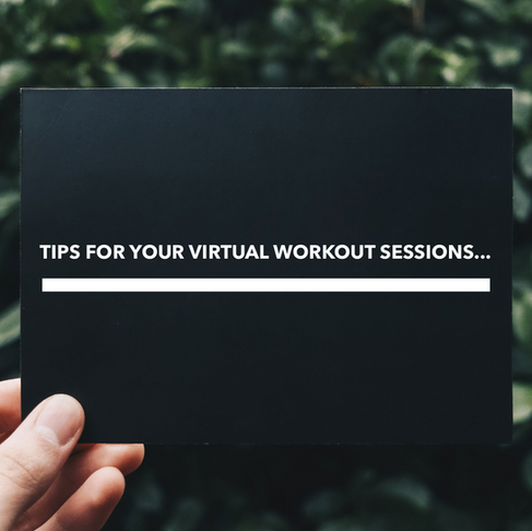 8 Tips for your first virtual pilates session.