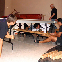 Building a Chapel Stage