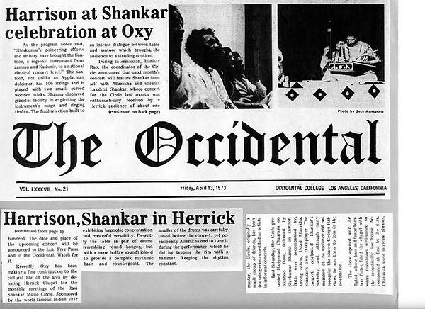 Shankar, Harrison clipping.jpg