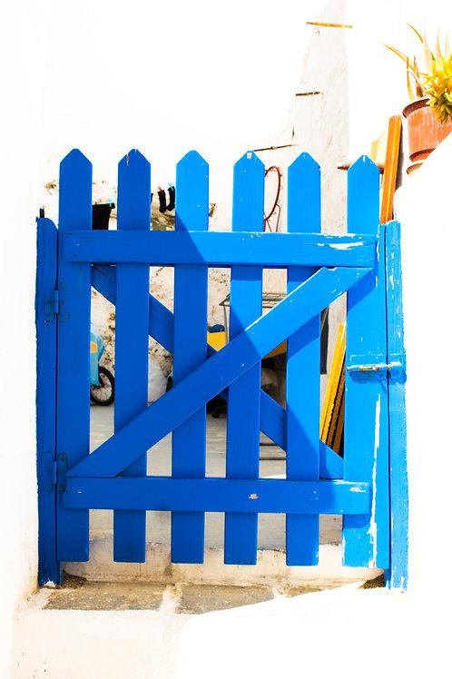 Kastro's Gate (metal print)