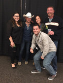 The WGNA team with Justin Moore