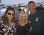 Sean and Bethany with Miranda Lambert