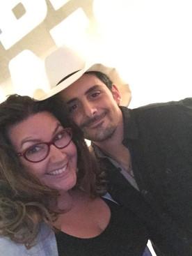 Bethany with Brad Paisley