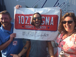 Sean and Bethany with Jake Owen