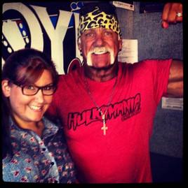 Bethany with Hulk Hogan