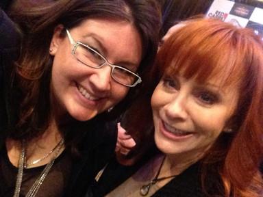 Bethany with Reba McEntire