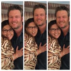 Bethany with Blake Shelton