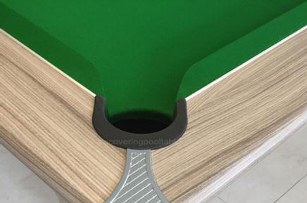 Green Club pool table cloth