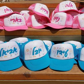 כובעים בהדפסה אישית