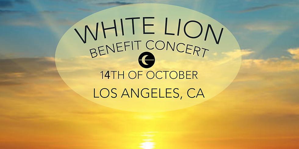 White Lion Benefit Concert LA